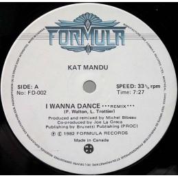 Kat Mandu – I Wanna Dance...