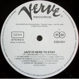 Various – Jazz Is Here To Stay