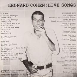 Leonard Cohen – Live Songs