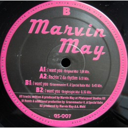 Marvin May – I Want You