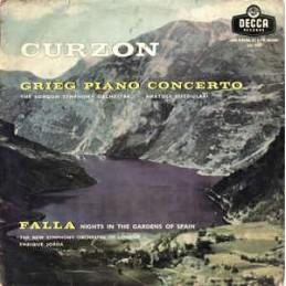 Curzon, Grieg, The New...