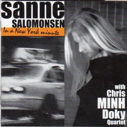 Sanne Salomonsen With Chris...