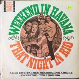 Alice Faye, Carmen Miranda,...